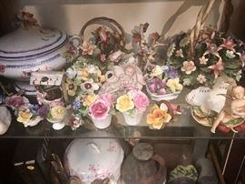 Italian, French, German Japan porcelain