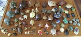 HPT006 Lucky Turtle Figurines Lot #3