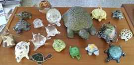 HPT005 Lucky Turtle Figurines Lot #2