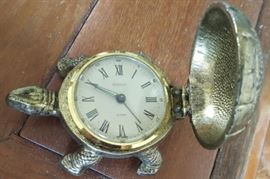 HPT010 Vintage Bentley Turtle Alarm Clock - West Germany