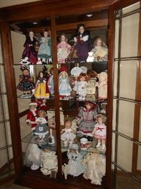 Doll Collection---Little Women, Shirley Temple and more