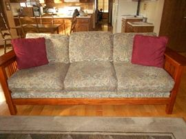 Mission Oak Sofa