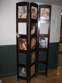 Room divider frame