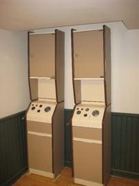 Beauty salon cabinets