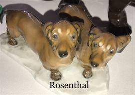 Adorable Rosenthal dog figurines!