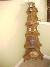 Corner Shelf & Collectibles