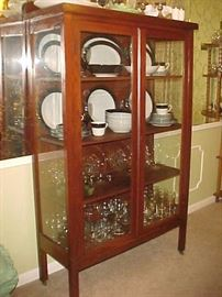 China Cabinet, Dishes & Glassware
