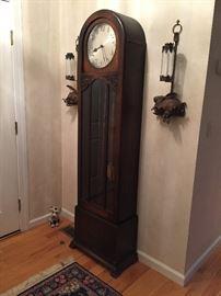 Turn of the century grandfather clock