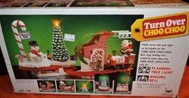 Christmas Turn Over Choo Choo