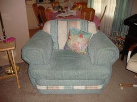 Aqua Arm Chair