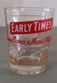 Vintage Early Time Hi-Ball Glass