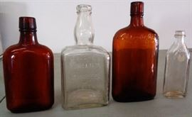 Vintage/Antique Liquor Bottles