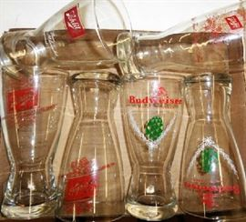 Vintage Beer Glasses
