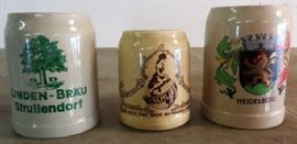 Vintage/Antique Beer Steins