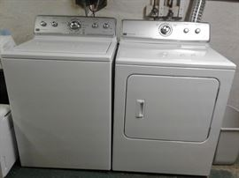 LIKE NEW MAYTAG WASHER AND DRYER