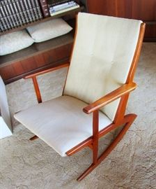 Mid Century  Danish Teak Rocker --The owners decided to keep this one--NFS