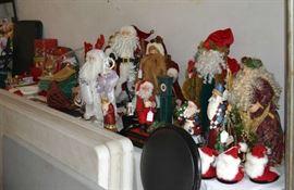 Santas of all sorts
