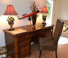 Tropical style desk