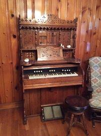 Beautiful Sears Organ, oak
