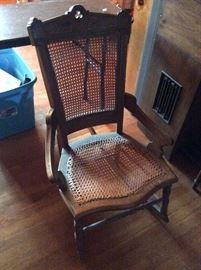 Wonderful Victorian caned chair