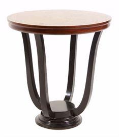 Art Deco Burlwood Table