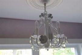 glass chandalier
