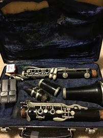 Clarinet in the case