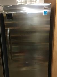 Kenmore Upright Stainless Steel Freezer