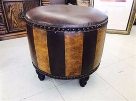 leather ottoman great condition $150 OBO