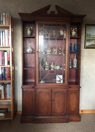 Beautiful Hutch filled with Hummel
