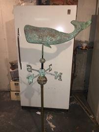 freezer and weathervane