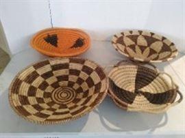 Woven African Baskets