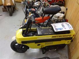 Rare Honda Motocompo folding motorbike