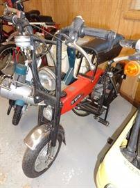 Di Blasi folding motorbike