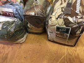 We have comforter sets in the original bags. In great condition