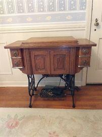 Vintage Domestic Sewing Machine