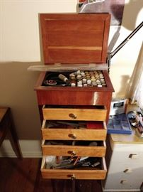 Master Duck Carver's Tool Chest