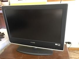 "Sony 26"" flat screen.  Great for kitchen or smaller space."