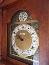 Seth Thomas wall clock.