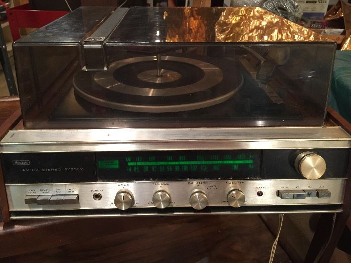 vintage Sears receiver (turntable not working)
