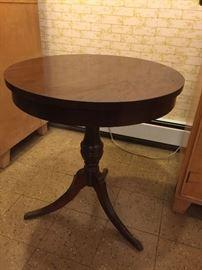 vintage round table