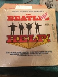 The Beatles - Help (org Motion Picture Soundtrack) LP  - opened but still has original shrinkwrap