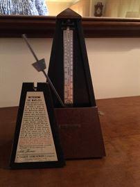 vintage Seth Thomas Metronome De Maelzel