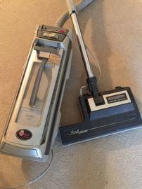 vintage Electrolux canister vacuum - Silverado Deluxe