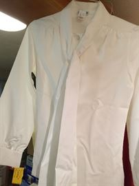 vintage women's clothing - blouse with Marshall Fields tags