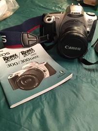 Canon Rebel 2000 camera