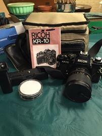 Vintage Ricoh KR-10 Super 35 mm Camera