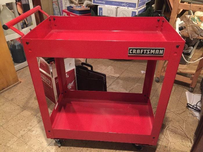 Craftsman metal rolling cart