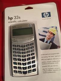 HP33s Scientific calculator NIP