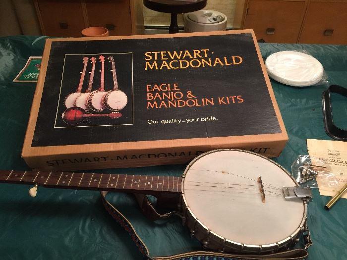 Stewart-Macdonald Banjo Kit - needs some work